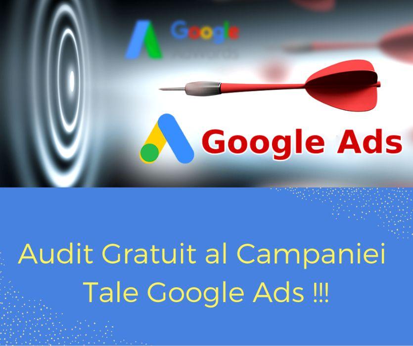 Promovare Google Ads - Testeaza Gratuit Serviciile Mele Timp de 7 Zile