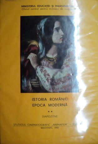 "COLECTIE: Diapozitive ""Istoria Romaniei-Epoca Moderna Vol. 2"" VINTAGE"