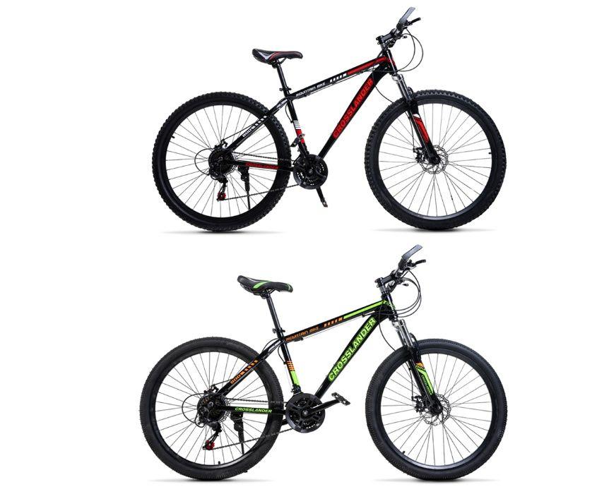 "Велосипед Crosslander Алуминиев НОВ! 26"" 27.5"" 29"" 2 цвята Налични"