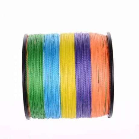 Плетено влакно за риболов 500м multi-color от 0.33мм до 0.80мм