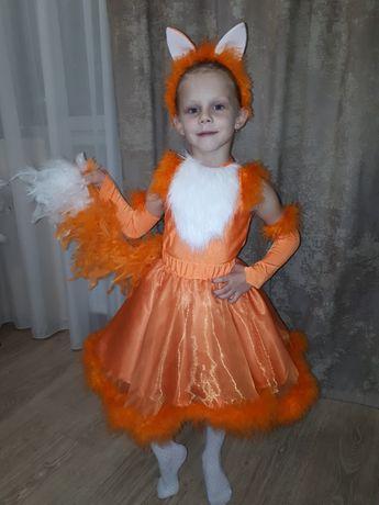 Новогодний костюм, лисичка