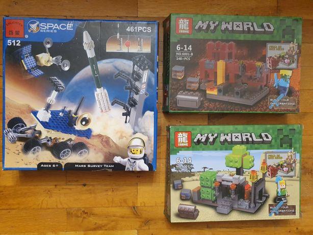Joc tip Lego Minekraft My World
