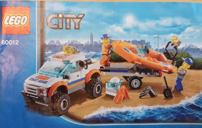 Vand lego city masina 4x4 si barca 60012