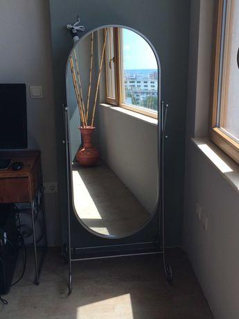 Голямо стоящо/подово огледало от ковано желязо