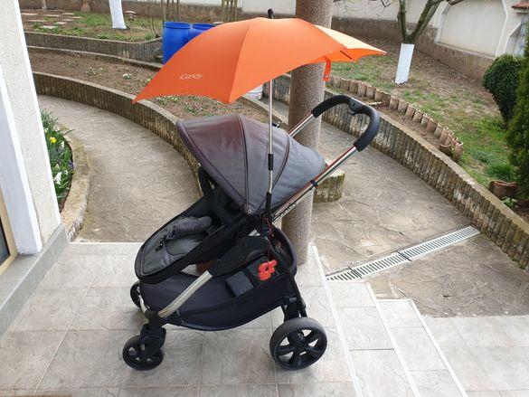 iCandy детска количка 2в1 Strawberry 2 Style Collection Chrome/Tudor