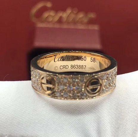 Позлатени пръстени Cartier -  - 750 / 18K