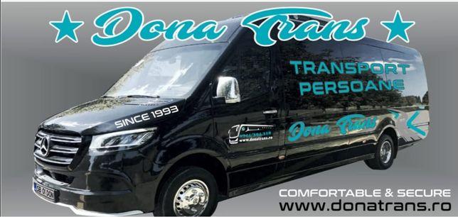 Transport persoane,excursii,ocazionale,nunta, inchiriez microbuz,autoc