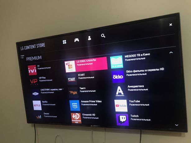 Телевизор LG SmartTV 4K (127cm)