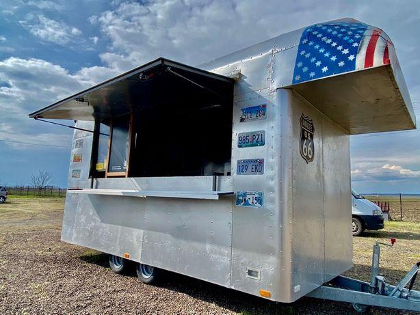 Rulota Comerciala de tip fast food model American