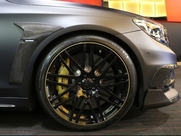 Mercedes w222 AMG Brabus S klasa Мерцедес раздувки калници w222 АМГ