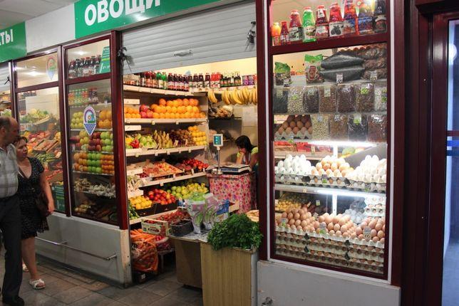 Овощной отдел в магазине на Абылайхана