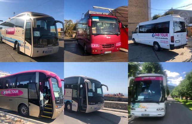 Transport persoane prin curse ocazionale si regulate