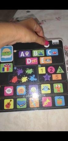 Tableta interactivă pentru copii în romana și engleza