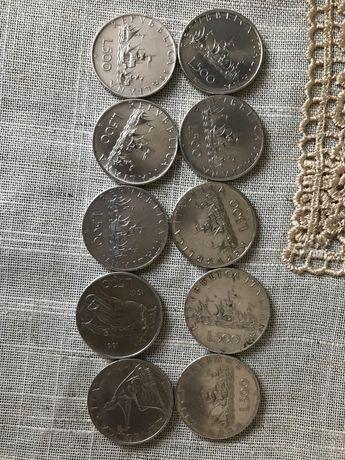 Monezi colectie 500lire argint