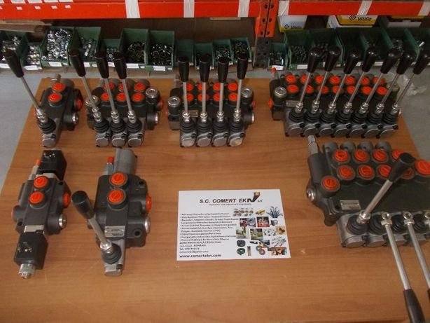 "Distribuitor hidraulic 3/8"" 40 litri distribuitoare Hidraulice"