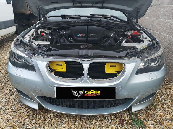 BMW e60/61 въздуховод, интейк, AIR SCOOP, RAM AIR, InTake+, GAR
