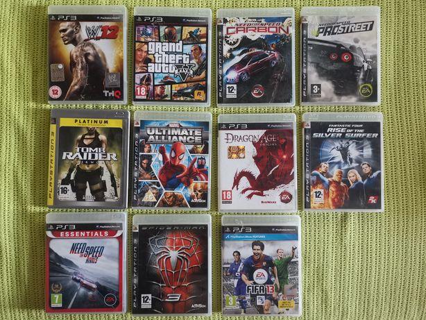 Jocuri PS 3 originale - set 11 buc