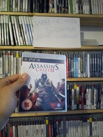 ps3 assasin creed 2 original+multe alte jocuri disponibile