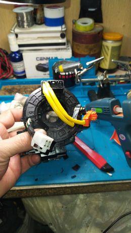 Ремонт и реставрация подрулевых шлейф лент, сигнал мультируль круиз.