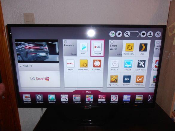 """Телевизор LG LED SMART 42"""" WIFI FHD Смарт в отлично състояние"""