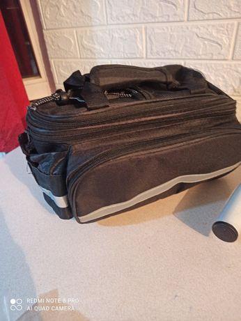 Рюкзак сумка для велосипеда велосумка на багажник большой