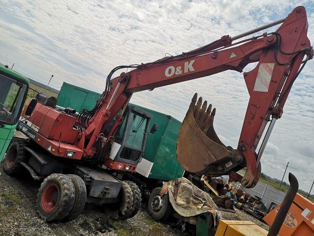 Excavator pe roti O&K MH 5 COMPAKT