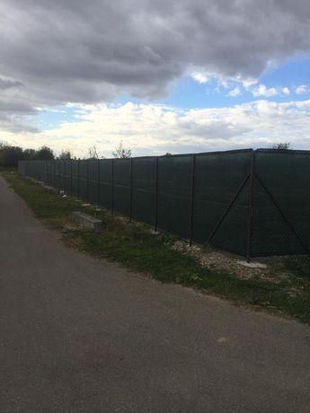 Plasa Verde Pentru Gard 3x50ml; Grad Umbrire 50% Ochiuri Prindere, UV
