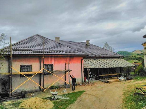 Firma montaj acoperisuri jgheaburi Parazapezi coame laterale