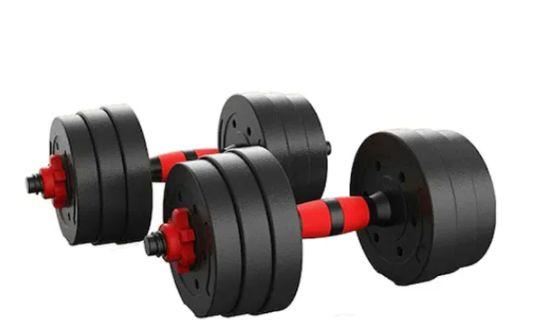 НОВИ Дъмбели 2х10кг ,2 х 12.5 кг Гумирани ,дъмбел, гири, тежести