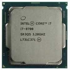 Intel i7 8700 процессор для компьютера ПК игровой геймерский