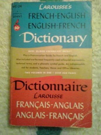 Larousse's French - English / English - French Dictionary