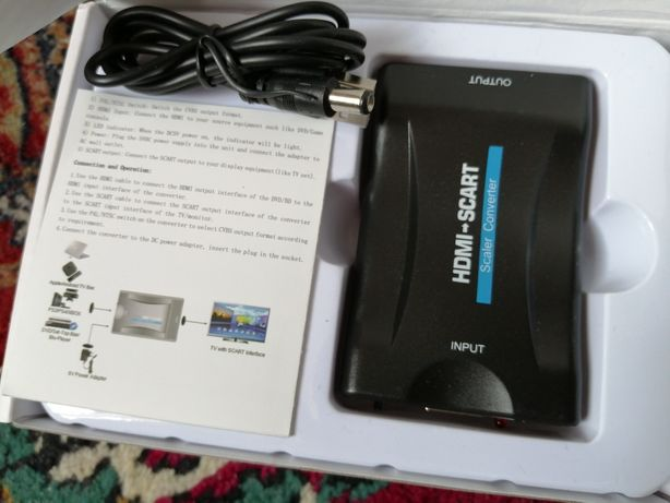 Adaptor HDMI -> SCART