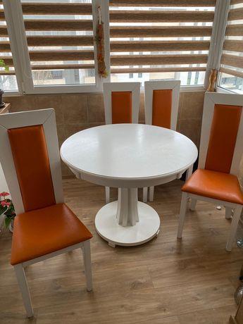 Masă cu 4 scaune mobirom