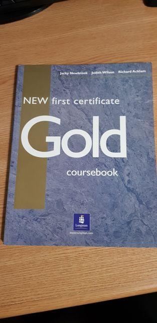 Gold coursebook editura Longman noua impecabila