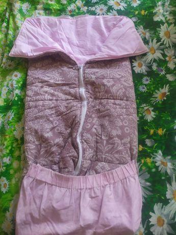 кокон одеяло для девочки