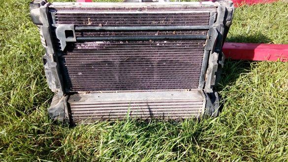 воден радиатор климатичен бмв е46 bmw e46 тръби водни маркуч кулер