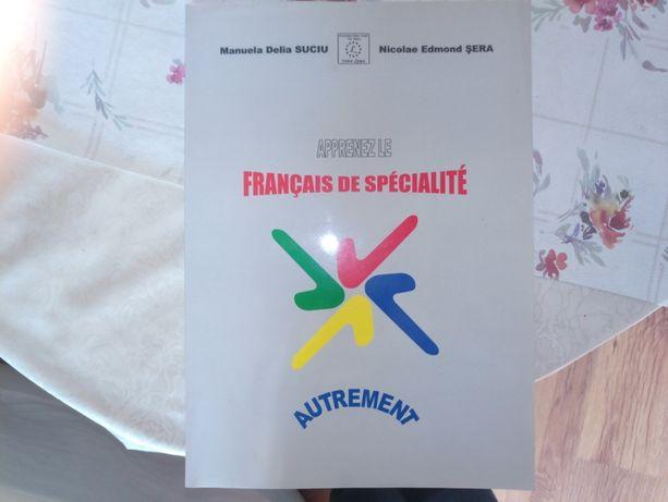 Vand manual Franceza de specialitate FSEGA Cluj