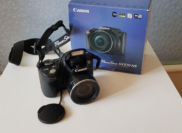 Aparat foto digital Canon PowerShot SX510 HS IS, 12.1MP, Black