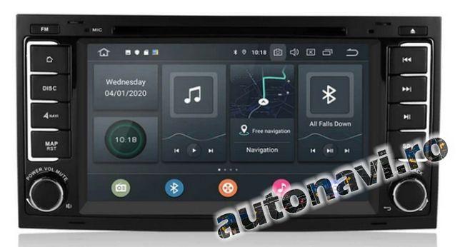 VW Touareg Transporter Multimedia Androi 10-CanBus - GPS DVD Navigatie