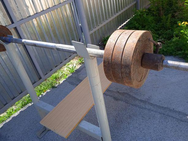 Штанга, 130-140 кг