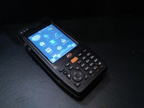 Като нови Мобилен терминал с баркод скенер M3 Mobile Orange