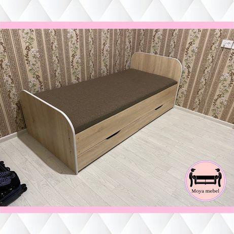Односпальная кровать,кровать,одноместная,односпалка,Доставка в.Алматы