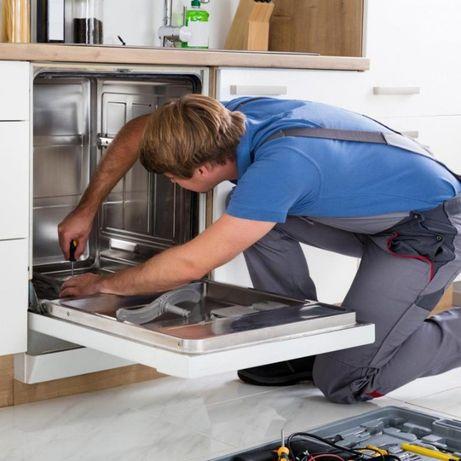 Ремонт посудомоечных, сушильных и стиральных машин,  бесплатный выезд!