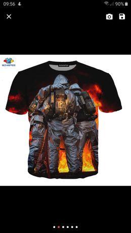 Tricou Pompieri