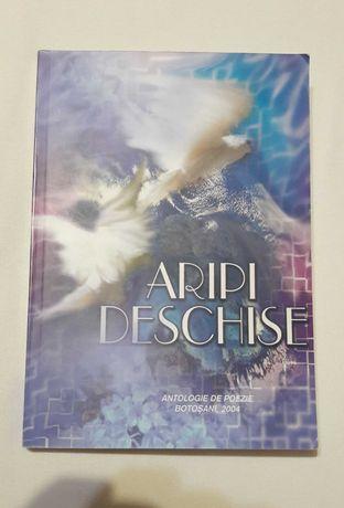 """Cartea """"Aripi deschise"""" - antologie de poezie, Botosani, 2004"""