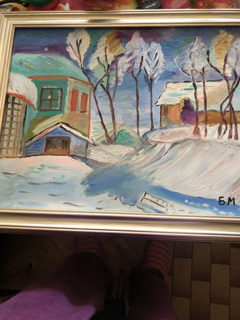Картина с маслени бои