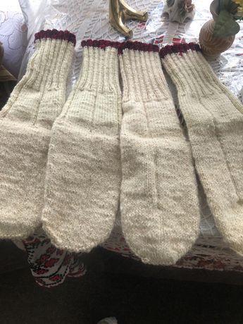 Vând ciorapi, papucei și veste , toate din lâna ,lucrate manual