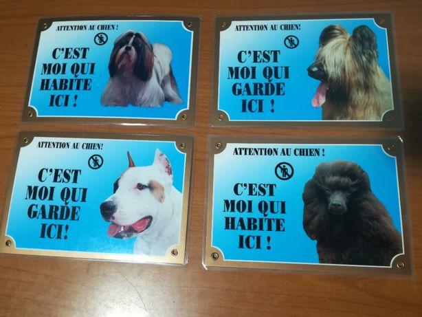 Indicator semn de avertizare câine rau