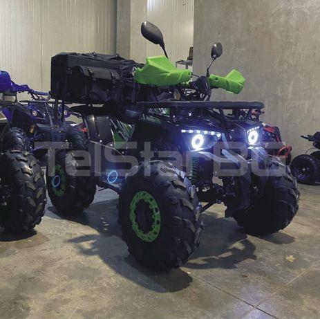 "ATV HUNTER 150CC С 8"" гуми , автоматик и SMART километраж АТВ"