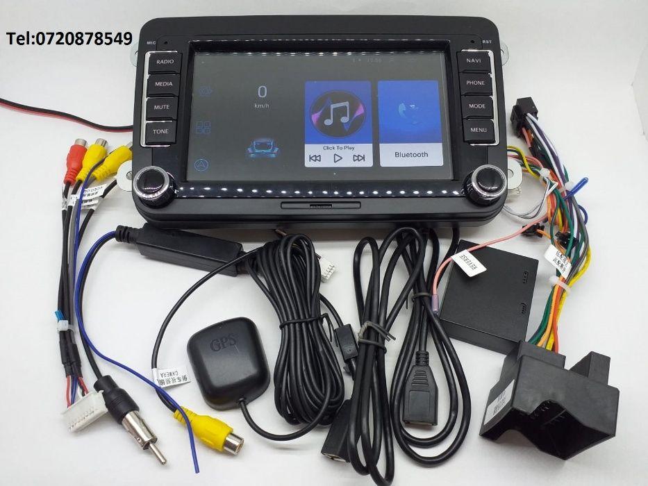 "Navigatie Android 7"" MP5 VW ,SKODA, SEAT, GOLF PASSAT Targoviste - imagine 1"